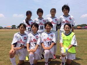【ガールズ】茨城県少女サッカー大会1日目