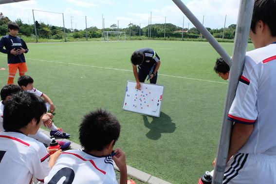 県リーグ vs 鹿島学園Cチーム@矢田部G