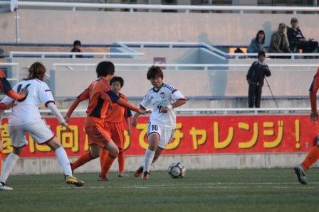 関東リーグ vs 日本航空高校 レディース トップ