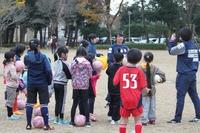 つくばサッカーフェスティバル2016を開催しました! 女子サッカー体験会編