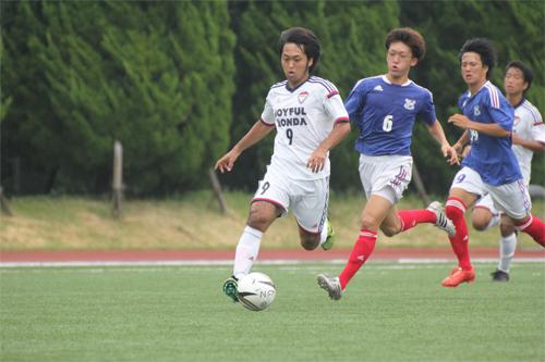関東リーグ 連敗後の大きな勝利