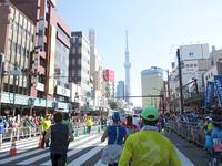 東京マラソン2017参加報告【2017年3月23日(木)夜19:00-19:15放送】