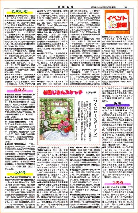 常陽新聞・バラ園