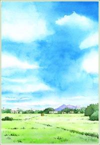 夏の空と筑波山 その2