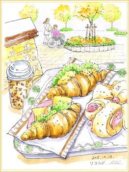 筑波メディカルセンターのパン屋さん