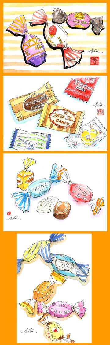 キャンディー色々