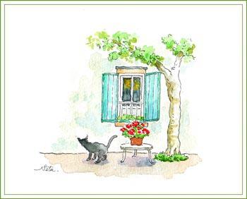 ネコと窓 その2