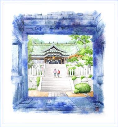 筑波山神社・本堂