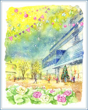筑波西武デパート・最後のクリスマス