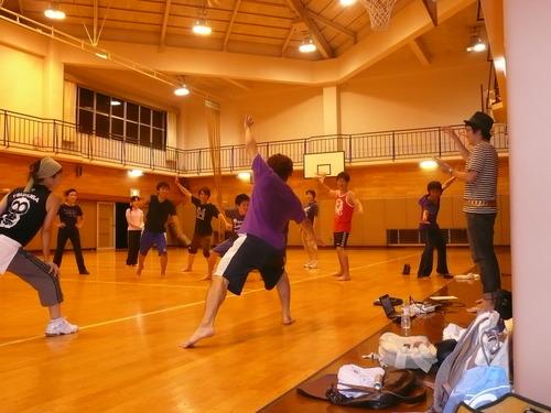 斬桐舞練習