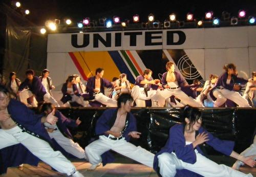 UNITEDステージ&北海道民会演舞♪