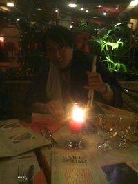 パリのディナー