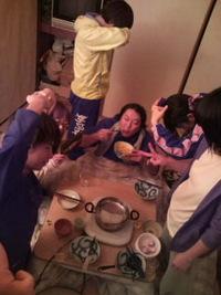日曜日練習…からの【M-1】鍋祭り〜♪