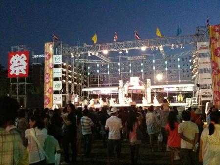 日本の祭り・シラチャ(タイ)の夜