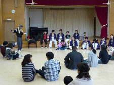 並木公民館演舞