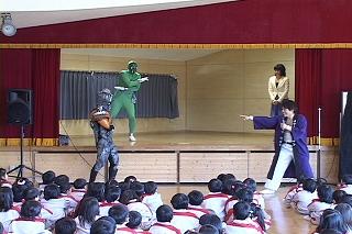 昨日の演舞の写真