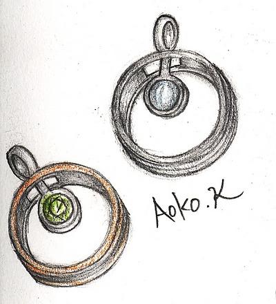 ペンダント兼用のミラクルペアーリング