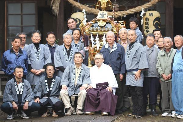 お神輿奉納の儀☆山王神輿会