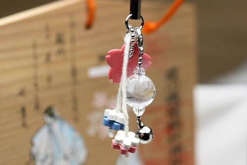 2013年合格ストラップNEW☆桜川市の土産