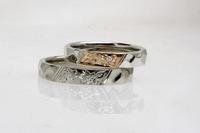 桜彫りの結婚指輪 2013/04/13 09:33:53