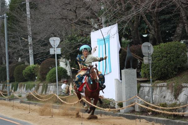 神事やぶさめ(流鏑馬)☆笠間稲荷神社