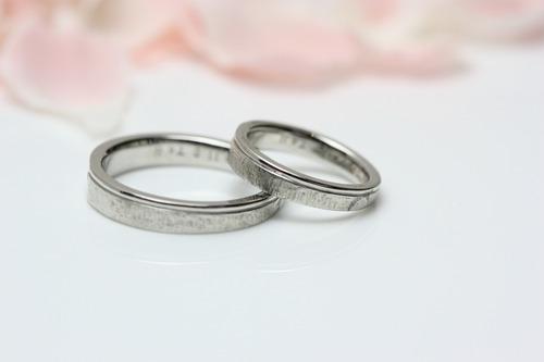 結婚指輪 再生