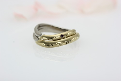 結婚指輪(ペアーリング) 桜小町