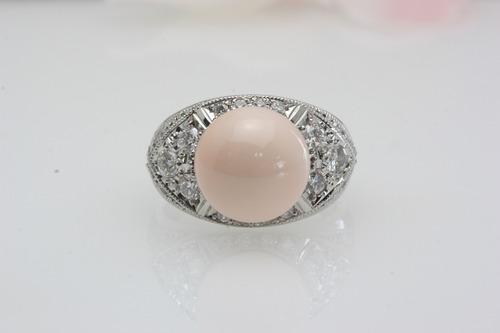 指輪のリフォーム 珊瑚
