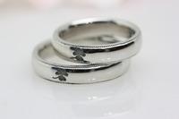 ミルグレインの結婚指輪(ペアーリング)アイルランド柄 2010/08/31 13:00:00