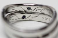 エンジェルロゴの結婚指輪 2011/10/16 11:01:17