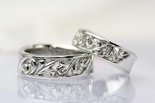 熟年の結婚指輪(ペアーリング)
