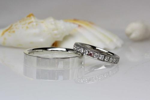 エタニティタイプの結婚指輪