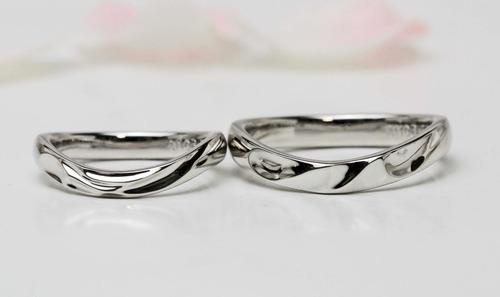 セットできる結婚指輪