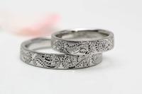 ペイズリー柄の結婚指輪 2011/08/01 10:00:00