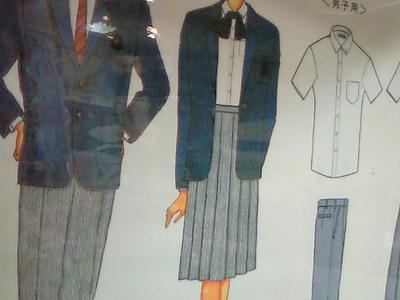 制服の着装検査がありました。