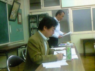 第二回実行委員会が開かれました。