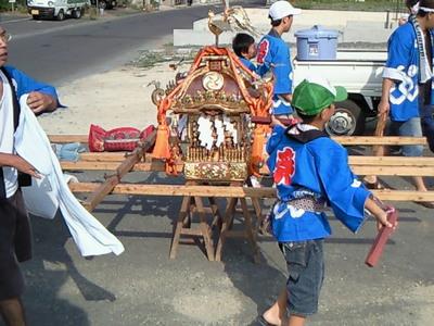 山王八坂神社の子供祭りがはじまりました!