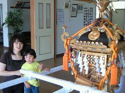 大泉鴨鳥五所神社の夏祭り