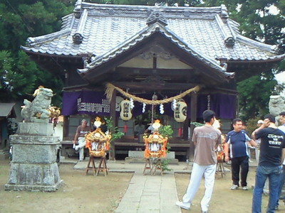 山王神社の抜魂式