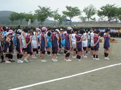 桜川市子供会中央球技大会が開催