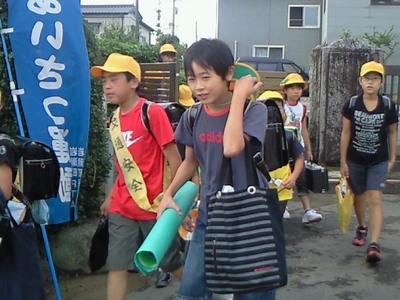 9月のあいさつ運動