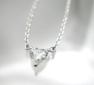 ハートシュイプカットのダイヤコレクション