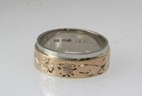 桜彫りの結婚指輪 2010/12/28 10:00:00