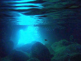 行って見たい所★青い洞窟by伊良部島