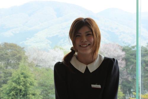 山桜を満喫できるゴルフ場☆桜姫も待ってるよ!