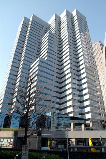 新宿Lタワーに出張中。。。