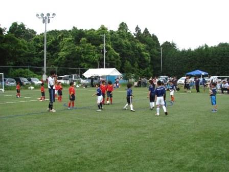 練習試合vsウィンズFC土浦【U-8】
