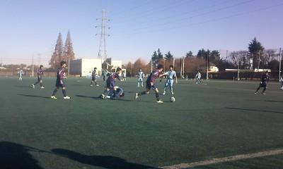 ユース2011-2012シーズンブログ vs青山学院大