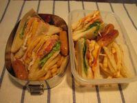 クラブハウスサンドイッチ弁当