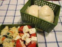 野菜まん弁当